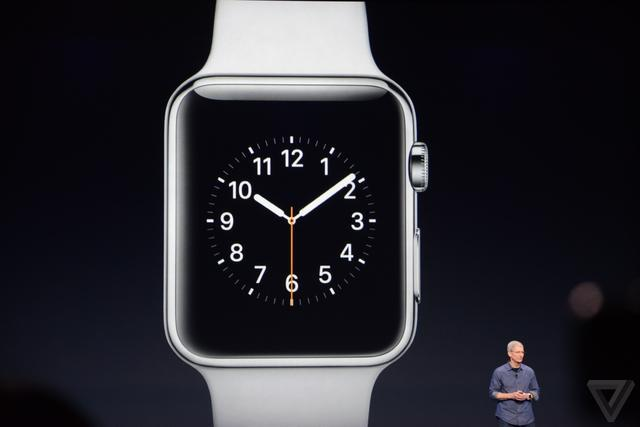苹果发布Apple Watch:349美元,明年初上市