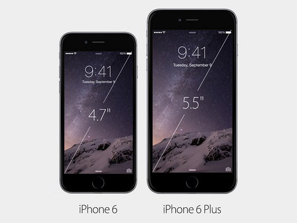 苹果iPhone6/iPhone6 Plus六大不同