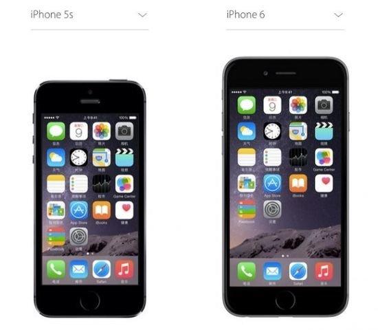 """你造吗?iPhone6屏幕大了,但图标""""小""""了"""