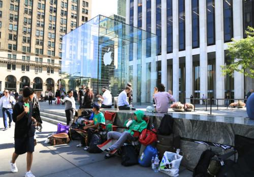 iPhone 6排队记:为谁辛苦为谁忙