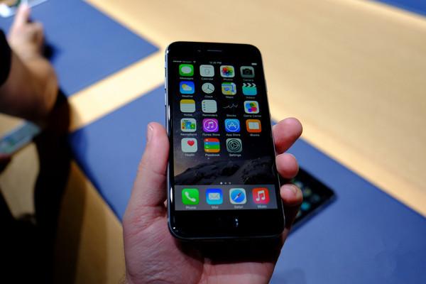 苹果iPhone6国内爆炒,看得多买的少