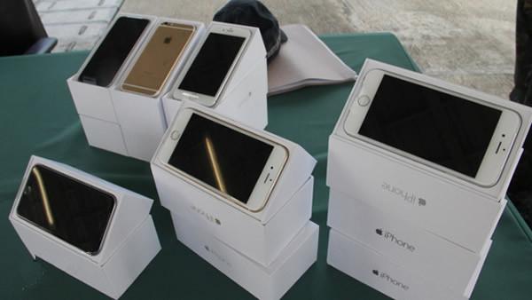郑州海关已验放622万部苹果iPhone6