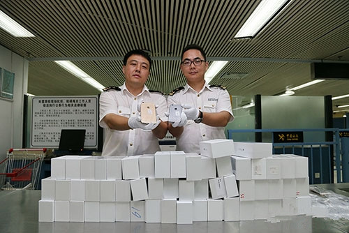 海关近2000台iPhone 6:公开拍卖