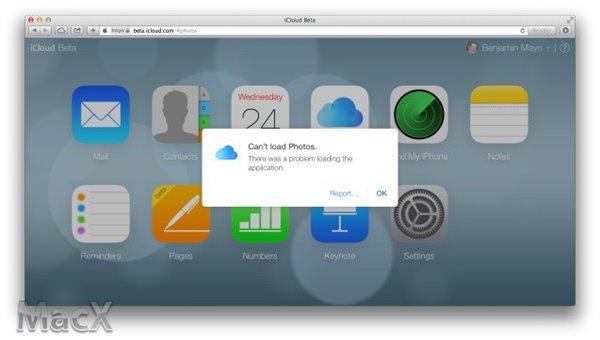 网页版iCloud照片流功能曝光