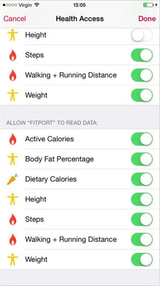 更新苹果iOS8.0.2后,各种健康应用上架了