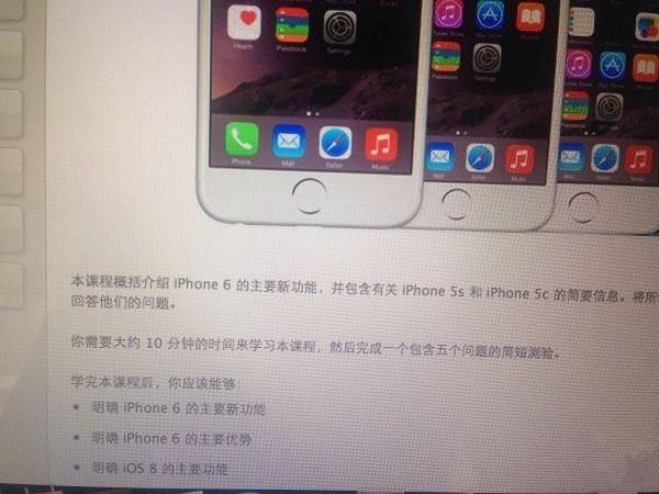 """店员爆料国行iPhone6""""双十""""开卖"""