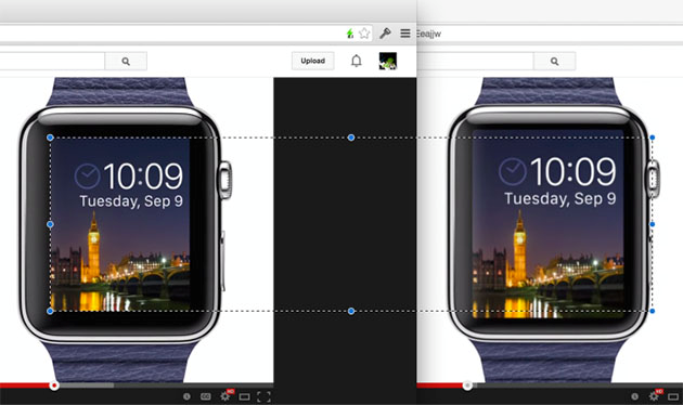 Apple Watch屏幕变小了?