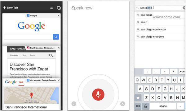 iOS版Chrome浏览器更新:匹配iPhone6