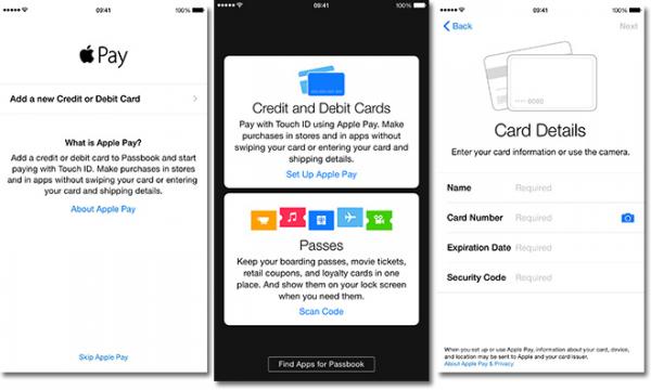 苹果公司专利保证Apple Pay安全性