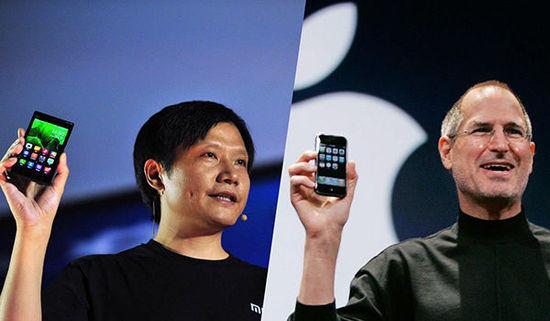 """苹果眼中的""""剽客""""小米:总是脸熟"""