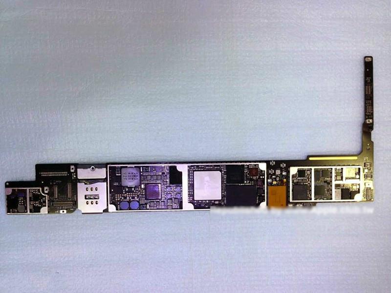 iPad Air 2大量零部件曝光:A8X,2GB,有金色版