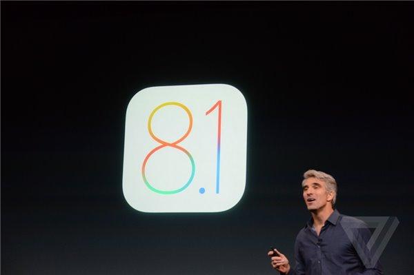 意外之惊喜!苹果iOS8.1正式发布