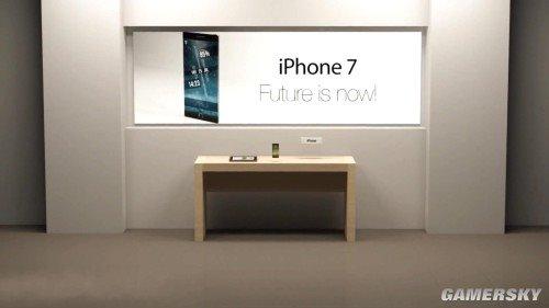 iPhone 7概念动态演示:双面屏可折叠