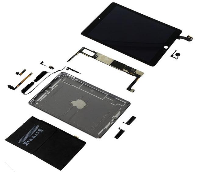 iPad Air 2成本只比iPad Air多1美元