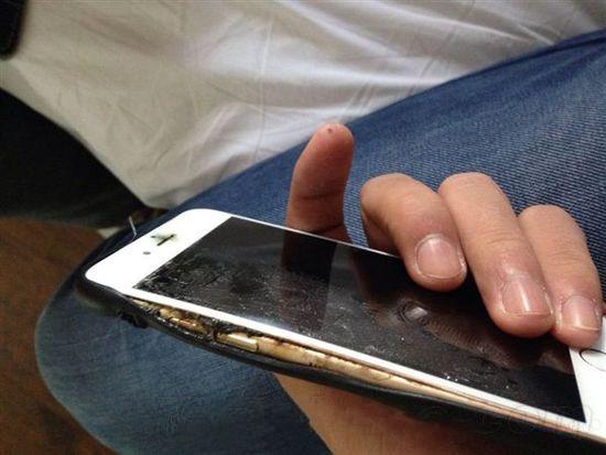 iPhone 6再曝质量问题:竟自燃