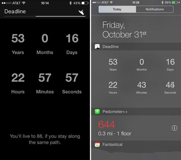 敢玩么?让iPhone预测你的死亡时间