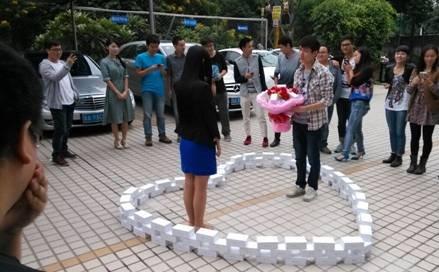 土豪男网购99台iPhone6求爱