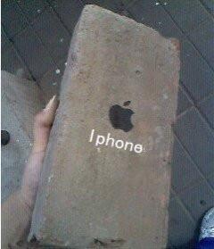 """快递员""""调包计"""" iPhone 6变石头"""