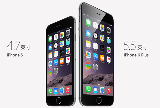 数字:iPhone 6销量是6 Plus的三倍