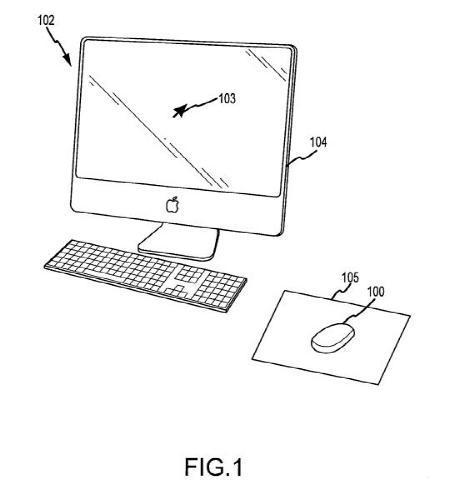 苹果最新专利:鼠标能变成扫描仪