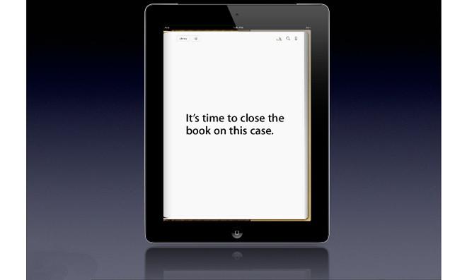 法官批准苹果4.5亿美元电子书案和解提议