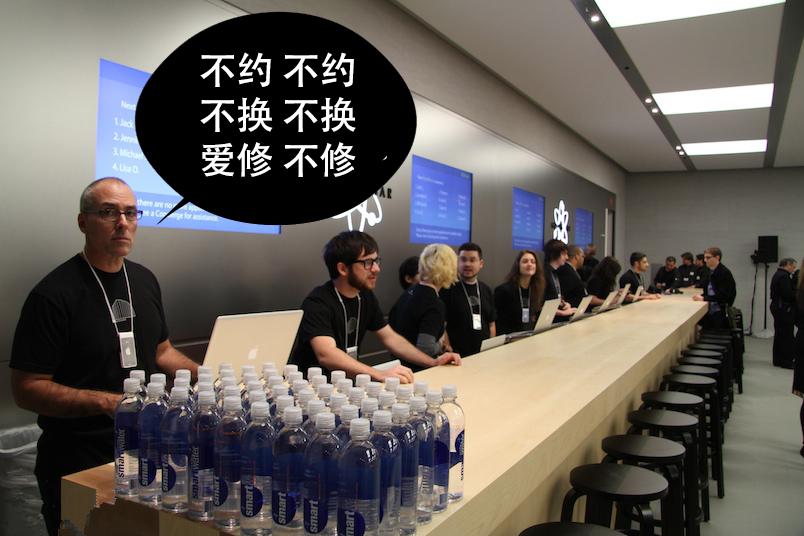 iPhone大陆保修政策突变, 港行悲剧