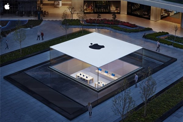 哪里的苹果零售店结构最漂亮?