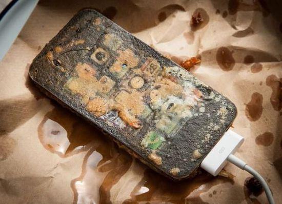 """油炸iPhone,""""快餐""""一样的艺术品"""