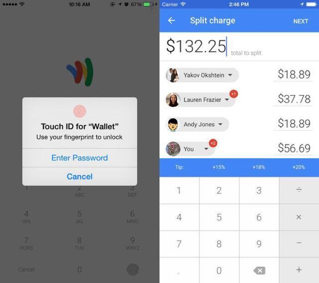 谷歌钱包iPhone版增加对TouchID的支持