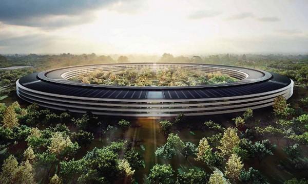 苹果新总部最新曝光:已具雏形