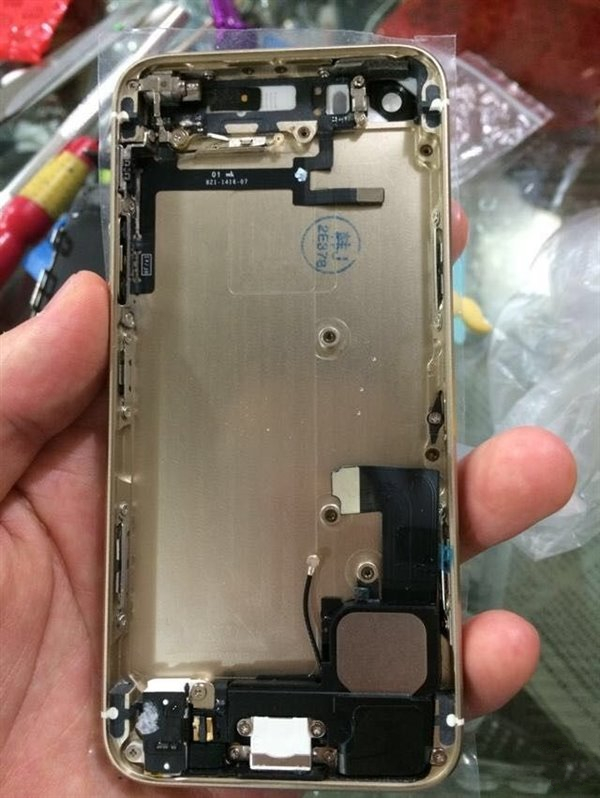 森森的恶意!iPhone5c改iPhone5s