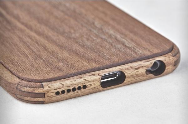 简单而美丽 iPhone6手工木质保护壳