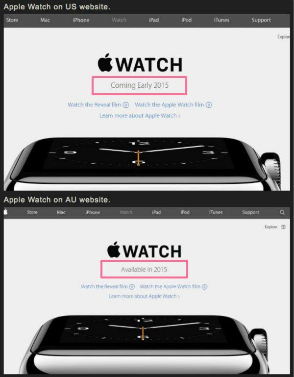 网站露Apple Watch端倪 大陆第二批