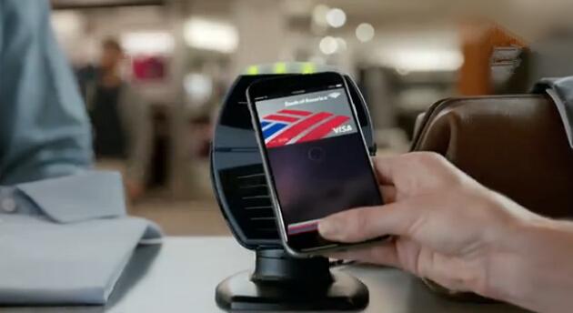 美银行新广告大力宣传Apple Pay