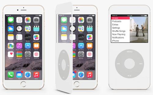 一秒让iPhone 6变身iPod Classic