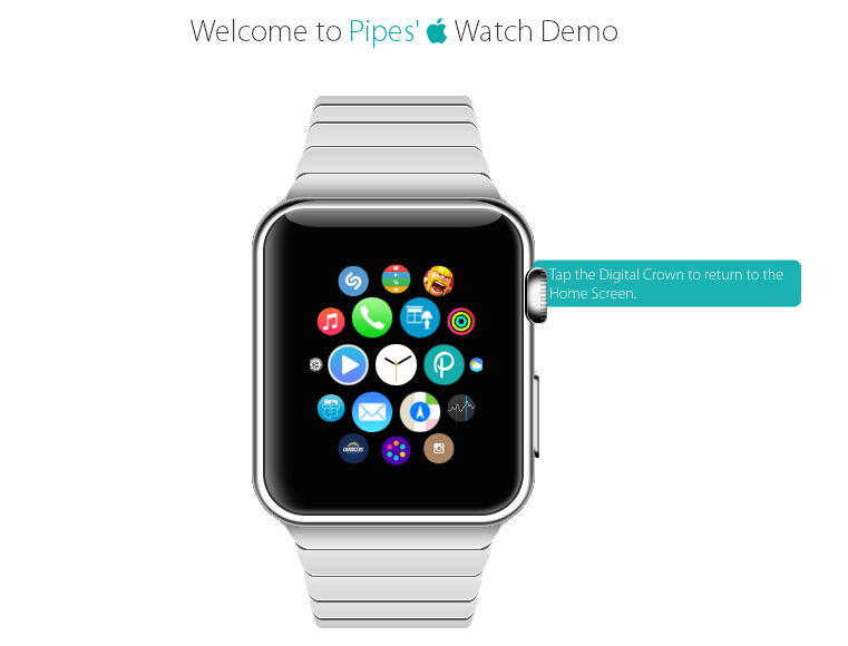 开发者推出 Apple Watch 交互演示,一起来尝鲜!