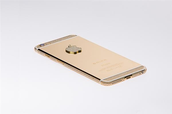 超奢华iPhone 6:镀金镶满钻石