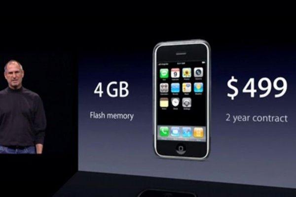 对比看看一代iPhone是有多差