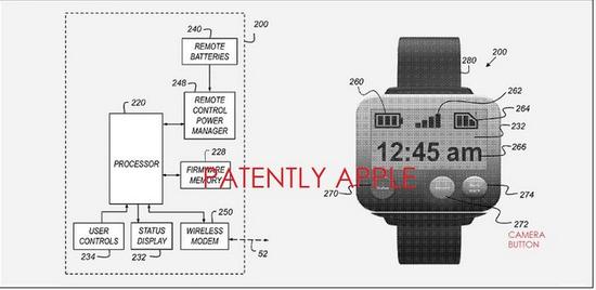 苹果获运动相机专利:可配合智能手表使用