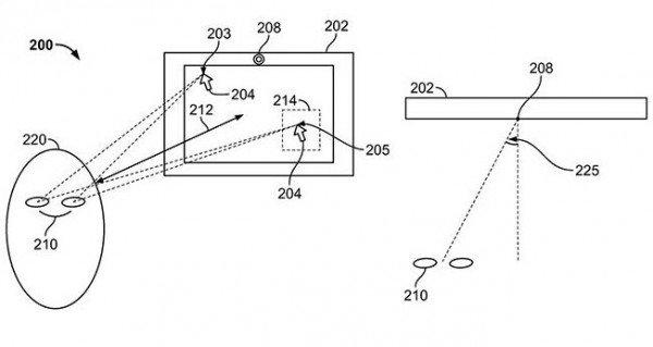 iPhone黑科技级专利:神奇眼睛控制技术