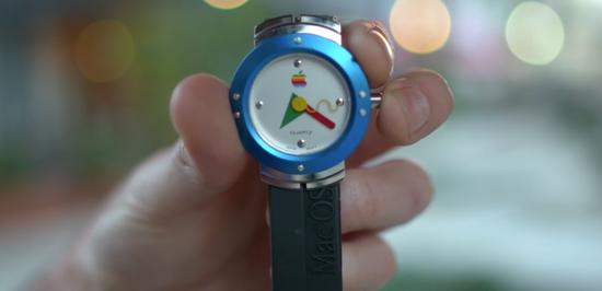 其实苹果20年前就发布过手表