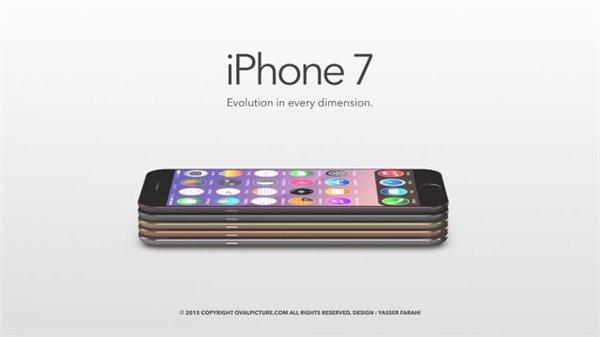 最美iPhone7概念:无线充电+双扬声器
