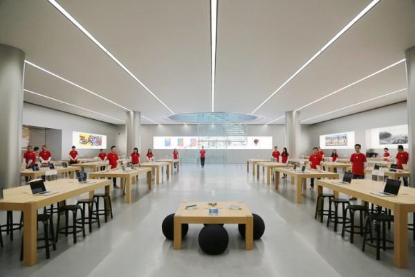 重庆解放碑苹果店开业在即 抢先看