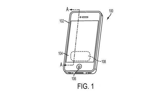 苹果以后或许可以直接在屏幕上指纹解锁