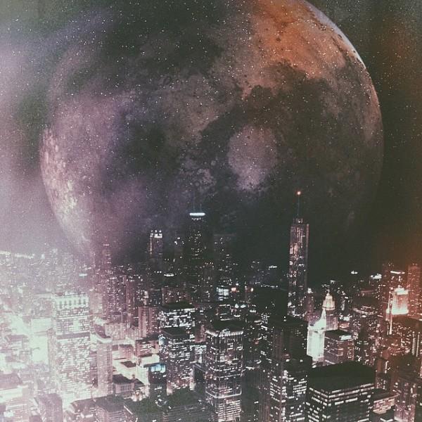 用iPhone6手机拍出世界末日景象