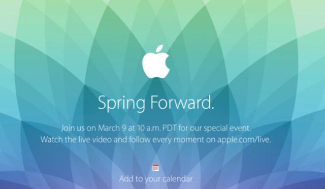 对3月9日苹果发布会的所有猜想
