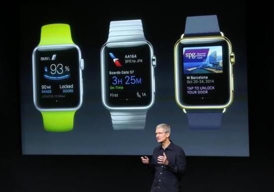 库克:Apple Watch或取代汽车钥匙