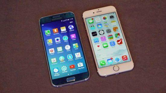 三星S6对比iPhone6哪个好:相似之中有不同