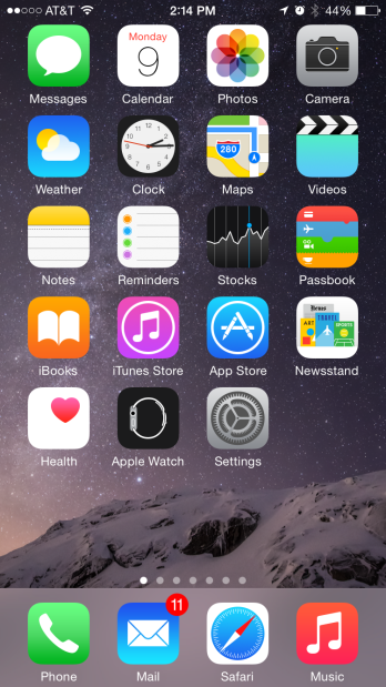 iOS 8.2苹果手表应用不能删除引争议