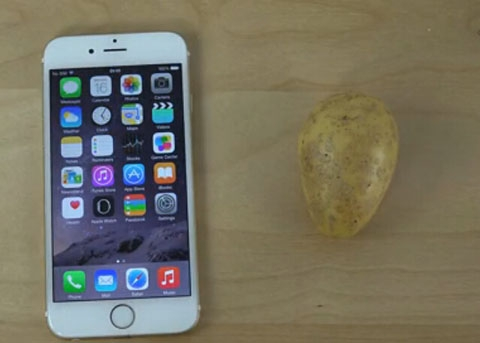 iPhone6连个土豆都不如